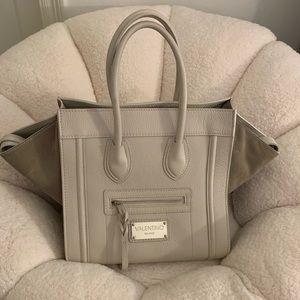 "Mario Valentino Leather/Suede ""Cynthia"" Bag"